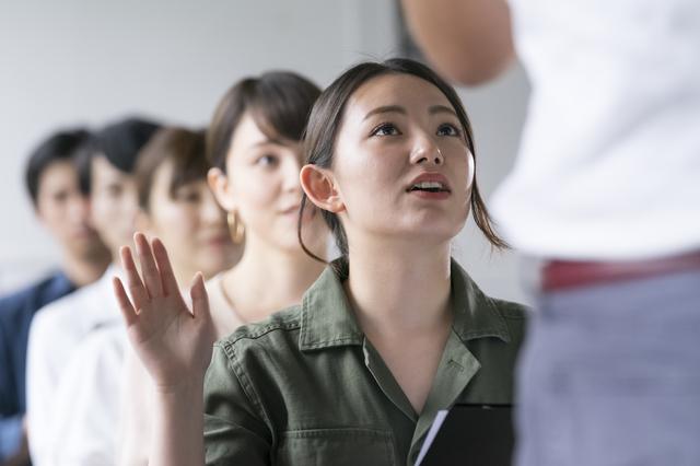 女性の働き方に関する質問例